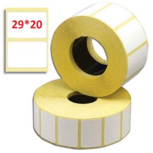 Термотрансферная этикетка 30x20