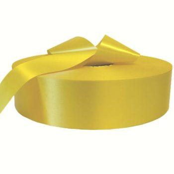 Сатиновая лента желтая PS901C