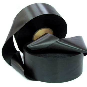 Сатиновая лента стандарт черная PS903B
