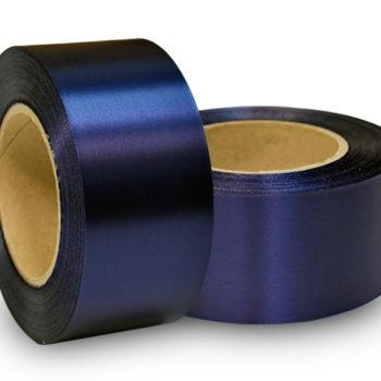 Сатиновая лента эконом темно-синяя PS999C